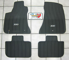 2011-2018 Chrysler 300 RWD All Weather Rubber Slush Mats Floor Mats Mopar OEM
