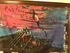 Vintage 1982 PINK FLOYD The Wall 100% Polyester Banner ITALY