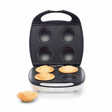 Pie Maker 4-Piece Non Stick Plate Easy Cooking Pastry Bakes Effortless Kitchen
