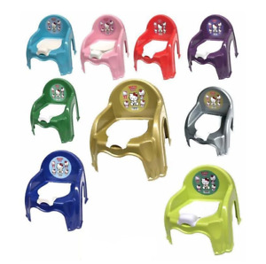 Kids Potty Training Chair Seat Toilet Trainer Toddler Baby Plastic UK