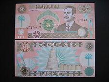 IRAQ  50 Dinars 1991  (P75)  AUNC