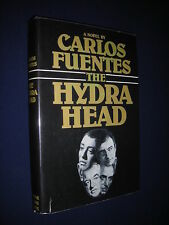 THE HYDRA HEAD - Carlos Fuentes - First Edition/1st Printing HC/DJ Near FINE
