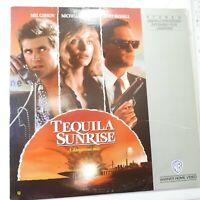 Tequila Sunrise Laserdisc LD Mel Gibson Kurt Russell Michelle Pfeiffer