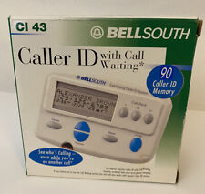VTG Bellsouth Caller ID With Call Waiting CI 43 - NEW White 90 Caller ID Memory