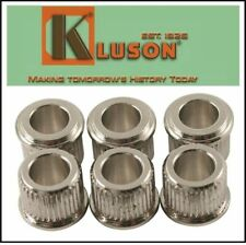 "NEW - Kluson 10mm to Vintage 1/4"" Post Conversion Adapter Bushings Set of 6"