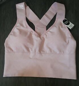 VS pink ultimate lightly lined  sport bra NEW size xs marbled chalk rose