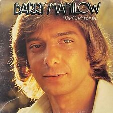 Barry Manilow – This One's For You: Arista 1976 Vinyl LP (Pop)