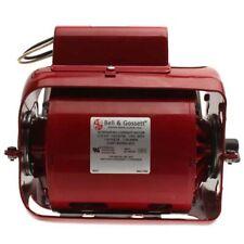 Bell Amp Gossett 111034 112 Hp 1725 Rpm 115v Single Phase Series 100 Rep Motor