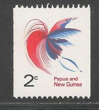 Papua New Guinea #291A (A63) VF MINT NH - 1969 2c Bird Of Paradise - Coil Stamp