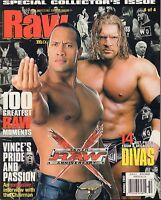 WWE Raw Magazine Holiday 2002 Raw Tenth Anniversary VG 032916DBE