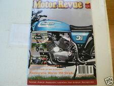 MOTOR REVUE 2004-03 POSTER LADY JAP BELGIUM,MOTO MORINI 3,5 STRADA,URAL,HARLEY V