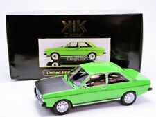 KK SCALE MODELS 1975 Audi 80 GT/E B1 Green LE of 1500 1/18 Scale New In stock