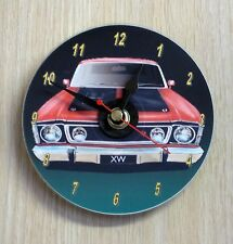 Ford Falcon XW GT (red) CD Clock