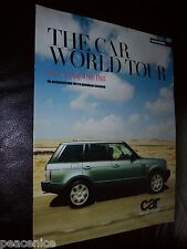 Range Rover THE CAR WORLD TOUR Part 3 One Tree Hill harman kardon mint condition
