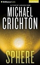 SPHERE unabridged audio book on CD by MICHAEL CRICHTON - Brand New 11 CDs 13 Hrs
