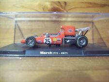 1/43 RBA/ATLAS MODELS MARCH 711 RONNIE PETERSON 1971