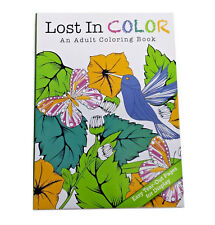 Adult Coloring Book Designer Series Colored Pencil Marker Books 112 Pages NEW