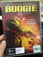 Boogie ex-rental region 4 DVD (2009 animated adult action movie)