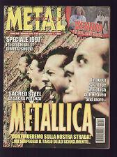 METAL SHOCK 254/1998 METALLICA LED ZEPPELIN SACRED STEEL VENOM IMAGIKA SAVATAGE