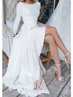 Langarm SEXY Brautkleid Hochzeitskleid Kleid Braut Babycat collection BC948