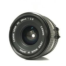 *EXC* Canon NFD New FD 28mm f/2.8 MF Wide Angle Fixed Prime Lens