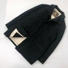 Loro Piana Men Navy CASHMERE Storm System Quilted Padded Jacket Coat Size XL 52