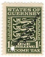 (I.B-CK) Guernsey Revenue : Income Tax 1/- (Waterlow specimen)