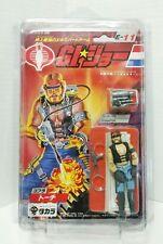 GI Joe Dreadnok TORCH 1986 Takara Japan MOC Vintage Action Figure + Starcase