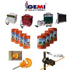 Kit Completo Per Recinto Elettrico Recinzione Elettrica Rete Elettrica Gemi