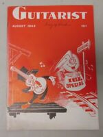 Guitarist Magazine of the International Guitar League August 1942