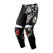 NOS MSR 356007 M11 METAL MULISHA TITAN PANTS BLACK WHITE SIZE MENS 28