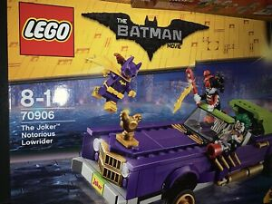 Lego Super Heroes 70906 THE JOKER NOTORIOUS LOWRIDER Rare New  Quick Post