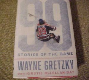 99 Stories of the Game by Wayne Gretzky  (2016 HBDJ) - NHL Hockey