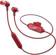 JBL E25bt Wireless Bluetooth In-ear Headphones Red