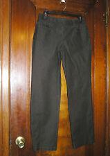 ANN TAYLOR BROWN KHAKIS CHINOS PANTS STRETCH COTTON SZ 6 0616