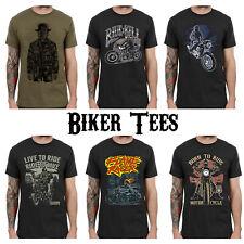 Biker T-Shirts Motorcycle Graphic Tshirt Clothing Men Women Kids Printed L188