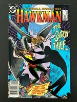 HAWKMAN #2 DC COMICS 1986 VF+ NEWSSTAND EDITION