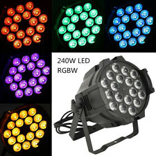 More details for 270w rgbw 18 led par stage lighting dmx 512 light dj disco party show dj lamp