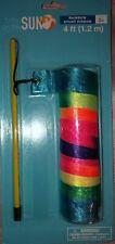 Streamer STUNT Ribbon Dog Cat Rainbow Toy 4ft Whirl Twirl Swirl Dance Pride NIP