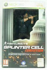 SPLINTER CELL CONVICTION Limited Collector's Edition Action Figure NO GIOCO XBOX