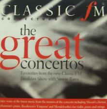 Various Classical(CD Album)The Great Concertos-Classic FM-2003-