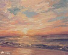 Sean Wu original oil painting 8x10 on canvas board