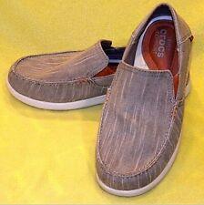 CROCS Santa Cruz 2 Luxe M Slip-On Loafer Khaki - Men's Size 9