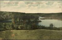 New Canaan CT Goat Island c1910 Postcard