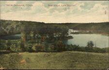 New Canaan CT Goat Island c1910 Postcard