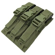 Condor MA37 OD GREEN Tactical MOLLE MP5/.22/9mm Magazine Clip Holster Pouch