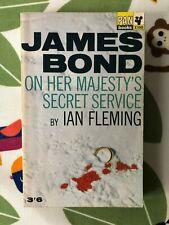 On Her Majesty's Secret Service - James Bond - Ian Fleming - Pan Books