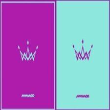 Mamamoo-[Purple] 5th Mini Album 2 Ver SET A+B CD+Fotobuch+Fotokarte K-POP Sealed