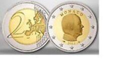 Monaco  2012     2 euro De gewone munt     UNC uit de rol  !!! Zeer zeldzaam !!!