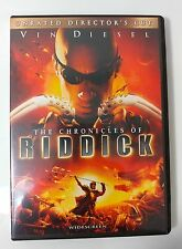 Video Dvd - The Chronicles of Riddick Unrated Directors Cut - New Open Worldwide